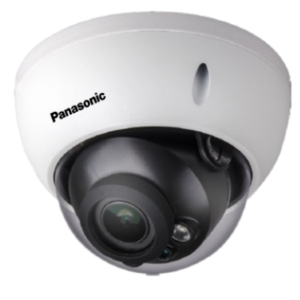 Panasonic 2MP Vandal Dome IR IP Network CCTV Camera - PI-SFW201DL
