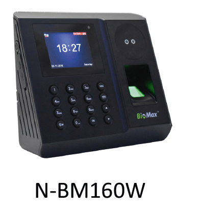 BioMax Face Detection Biometric System - N-BM160 W 4G (WiFi + GPRS)