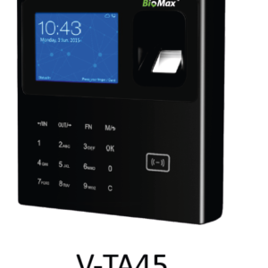 BioMax Fingerprint Biometric System - V-TA45 + Battery
