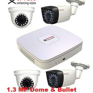 cp plus dome and bullet and 4channel dvr